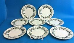 Set Vintage Royal Worcester Fine Bone China Lavinia England Salad Plates Dishes