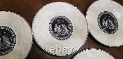 Set of 12 Wedgwood Etruria Porcelain Dinner Plates