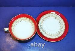 Set of 24 Pcs British Royal Worcester Regency Tea Set 1941