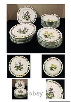 VINTAGE Royal Worcester Dinnerware WORCESTER HERBS 22-Piece Set