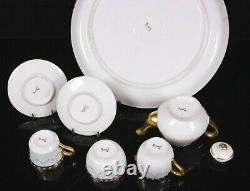 Vintage Miniature Jewelled Tea Set Ex Worcester Ken Russell