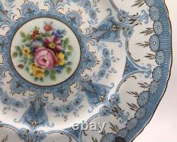 Vintage Royal Worcester Set 10 Dinner Plates