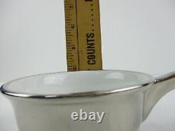 Vintage Royal Worcester Silver Lustre Cocotte, Set of 6