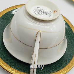 Vintage Royal Worcester Tea Cup & Saucer bone china England 5 sets