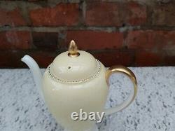 Wedgwood April Beaded Yellow W4144 coffee set