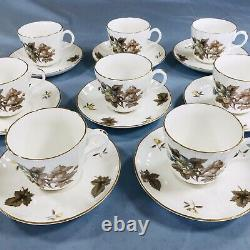 X8 6pc Settings Dorchester 51 Royal Worcester R Bone China Made In England